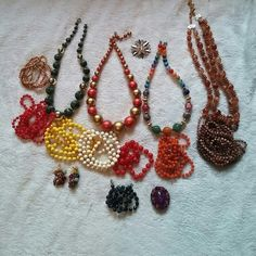Costume jewlery, Classic style 15 prices of costume jewlery, price to high make an offer,  if ordered, extra jewlery comes with order Jewelry Necklaces