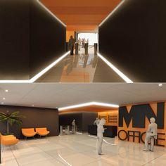 Lobby Comercial (estudo) #jonasbirgerarquitetura