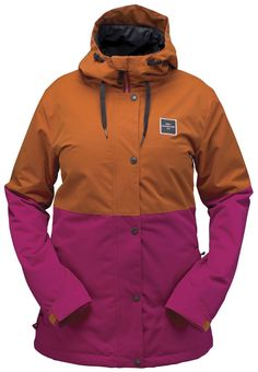 da1b15325b4c Women s snowboard jackets from The House let you stay stylish and  comfortable for hours on the slopes. These snow jackets are designed with  durability in ...