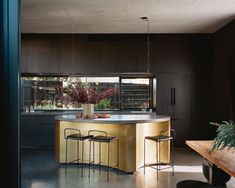 Clinker Brick House in Mentone, VIC by Studio Bright | Yellowtrace