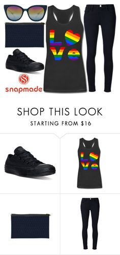 """""""love..."""" by j-n-a ❤ liked on Polyvore featuring Converse, Frame Denim and Barton Perreira"""