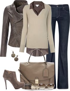 I love neutrals for fall.
