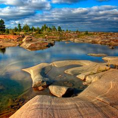french river provincial park Alban, ON Parks Canada, O Canada, Canada Travel, Wonderful Places, Beautiful Places, Canada Pictures, Ontario Travel, True North, Going On Holiday