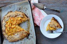 Peach Galette with Almond Buttermilk Crust