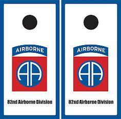 e913f04d8b5 82nd Airborne Division Cornhole Game