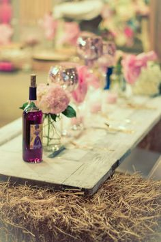 Real Wedding ~ Door County Woodwalk Gallery Barn Wedding. Photo by BMae Photography.