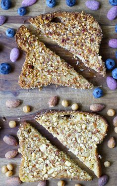Salted Caramel Almond Crusted French Toast! Seriously this is SO good!