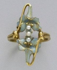Rene Lalique. 1900 Ring