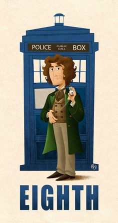 8th Doctor, whom we often forget.