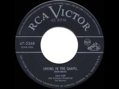 ▶ 1953 HITS ARCHIVE: Crying In The Chapel - June Valli - YouTube