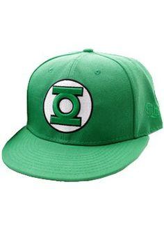 Green Lantern Classic Logo Adjustable Cap  - Only £18!!