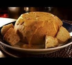 Red Lobster's ULTIMATE FONDUE * cheese, lobster or crawfish * slight touch of heat ** serve hot with chunks of bread for dipping ** BREAD BOWL ** photo & recipe courtesy of Red Lobster **