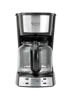 Betty Crocker BC-2809CB 12-Cup Coffee Maker with Digital Screen, Stainless Steel *** Hurry! Check out this great product : Small Appliances