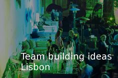 Ideas for group travel or team building events in Porto - Go Discover Portugal travel Sports Activities, Group Activities, Creative Activities, Corporate Team Building, Team Building Events, Be Organized, Portugal Holidays, Team Games, Event Organization