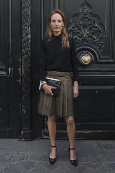 Paris Fashion Week Street Style | Spring 2013 | POPSUGAR Fashion