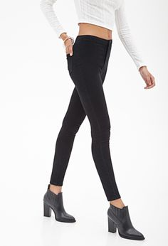 "Channel your inner ""Black Widow"" with these super sexy High-Rise Skinny Jeans. #DIYourSelfie"