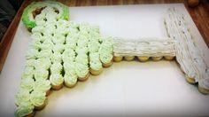 Margarita cupcake cake.