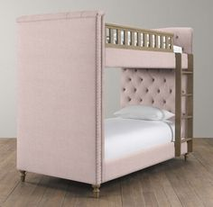 Chesterfield Upholstered Bunk Bed