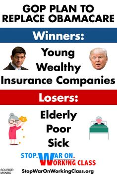 The GOP released their replacement plan for #Obamacare. Here are the winners and losers. (click through to read more)