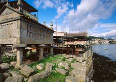 Combarro (Pontevedra) Spain And Portugal, The Good Place, Surfing, Places To Visit, Europe, Camping, Mansions, World, House Styles