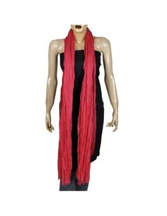 Femme Rouge Echarpe Longue d été Accessories en Coton 223 x101 cm  Amazon.fr   Vêtements et accessoires. Hami Midak · ECHARPES 10385e184fc