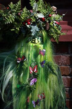 Jack-in-the-Green Hastings 2014: The Green-man keeps growing back