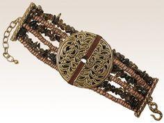 Bracelet Césarée, créateur de bijoux de prestige à résonance ethnique