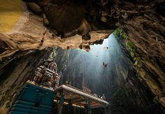 Conheça Batu Caves,as incríveis  cavernas sagradas na Malásia