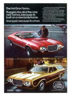 1972 Torino, the only year they looked good. Thanks Washington... We really loved those stupid 5 MPH bumpers.