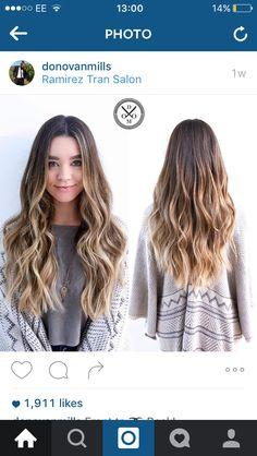 Sierra Furtado's hair