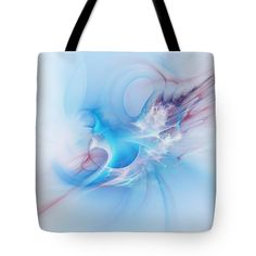 Mother-of-pearl. Abstract art by Marfffa Art #fractal #MarfffaArt #Tote Bag