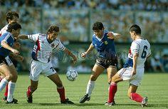 Argentina 0 (3) Yugoslavia 0 (2) (Copa del Mundo Italia 1990,Estadio Artemio Franchi,Florencia,30/06/1990)