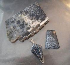 Dendritic Opal / Gallery - IrenaDesigns.com - Fine Quality Artisan Jewelry