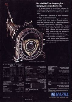 Datsun, Mazda, and Toyota owners manuals, repair manuals, and sales brochures scanned. Mazda Cars, Jdm Cars, Classic Japanese Cars, Classic Cars, Wankel Engine, Truck Repair, Rx7, Power Cars, Import Cars