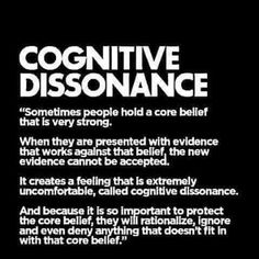 Cognitive Dissonance defined