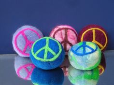 Peace Felted Soap Organic Goats Milk by Engelfelt on Etsy, $12.00