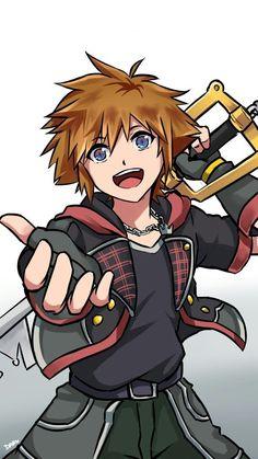 """Every child, boy and girl, should get to see the Sora Kingdom Hearts, Kingdom Hearts Characters, Kingdom Hearts Wallpaper, Heart Wallpaper, Sora And Kairi, Sora Kh, Bakugou And Uraraka, Kindom Hearts, Anime Base"