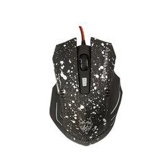 Mua Professional 1600 DPI Optical USB Wired Gaming Mouse Mice for PC Laptop MAC (Black/White) chính hãng, giá tốt tại Lazada.vn, giao hàng tận nơi,...