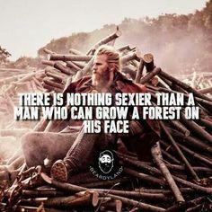 Beard love.