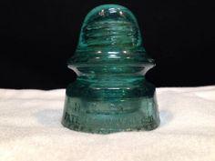 H.G. Co Antique Glass Insulator 1880 - 1956 (030) 'baby signal'