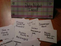 Date Night Envelope Ideas- Our Plan for Adult Only Night's Out!!! ALL #parents love their #kids. But sometimes we need a date night or moms' night out! When was the last time you got a #babysitter??  https://www.facebook.com/AustinsCapitalGrannies http://austin-babysitter.com/