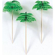 Palm Tree Cocktail Picks (12 pack) 401200