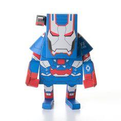 Iron Man Patriot, $18, now featured on Fab. [Marvel, MOMOT]