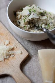life as a moodboard: Mushroom Risotto - Recipe