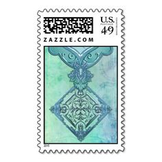 HOUSE OF SAVOY: FRENCH BLEU-VERT POSTAGE STAMPS