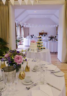 Inside at Lulworth Courtyard Courtyard Wedding, Wedding Reception Venues, Table Settings, Indoor, Entertaining, Table Decorations, Wall, Wedding Photography, Weddings