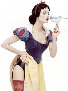 Seductive snow white