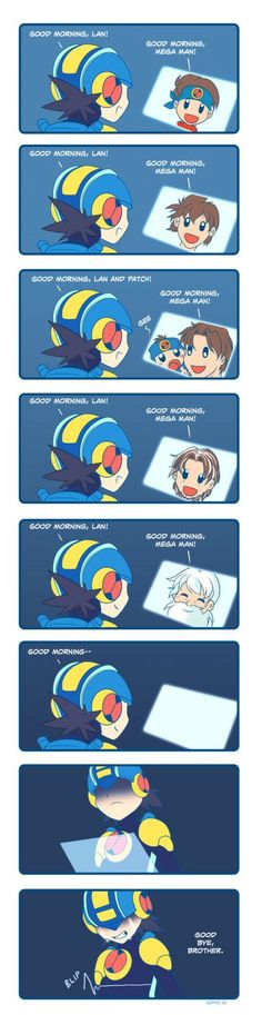 The Ability to Live Forever is Very Depressing #Comic #MegaMan #BattleNetwork