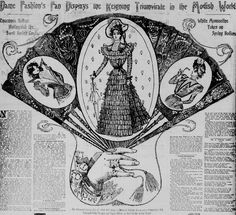 The latest from Dame Fashion. From the February 13, 1898 Seattle Post-Intelligencer.