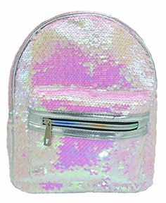11a783cc5342 Shining Women Sequins Backpacks Teenage Girls Travel Large Capacity Bags  Portable Party Mini School Bags Shoulder Bag for Lady